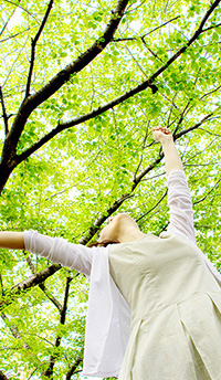 ストレスや緊張を解く~好きな香りで上手に深呼吸しよう~